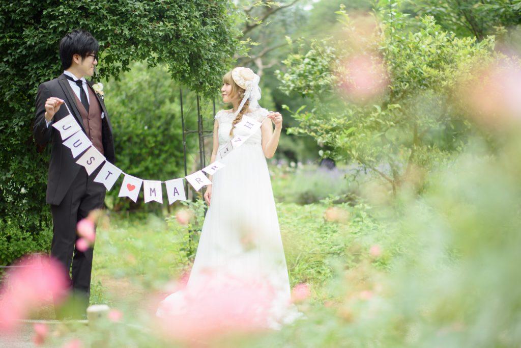 代々木公園,ロケフォト,カップルフォト,フォト婚,フォトウエディング,写真だけの結婚式,ロケーション撮影,ウエディングドレス