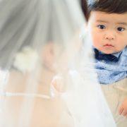 結婚式の様な流れで撮影をしていただけたので、少しは親孝行できたかなと自分なりに感じております。