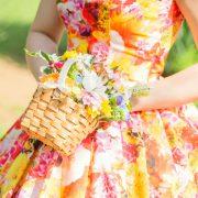 白ドレスでチャペル×蜷川実花ドレスでロケーション撮影の画像8