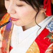 代々木公園で和装撮影&国立博物館で洋装撮影の画像1