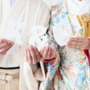洋装と和装で春のフォトウエディング